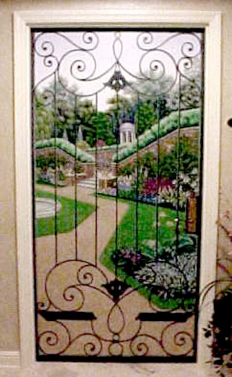 Garden Doorway by Art Magickal